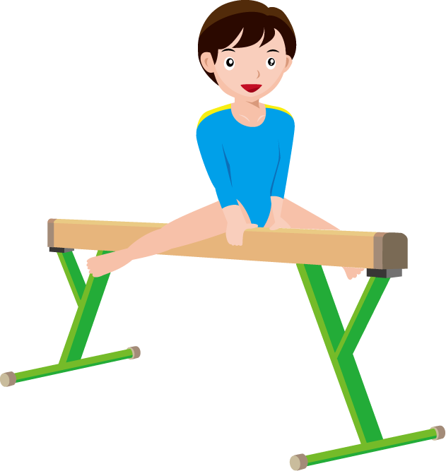 Gymnastics clipart flexible.  collection of png