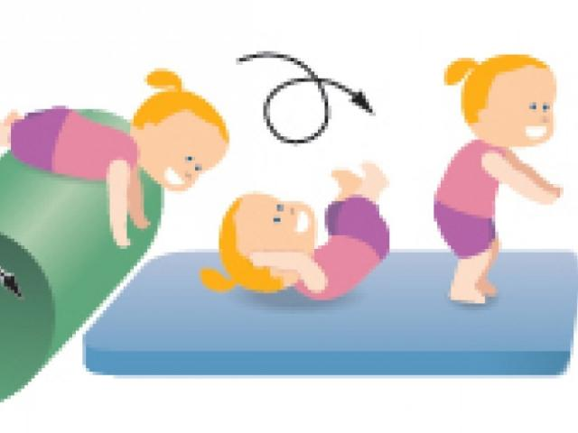 Free download clip art. Gymnastics clipart baby
