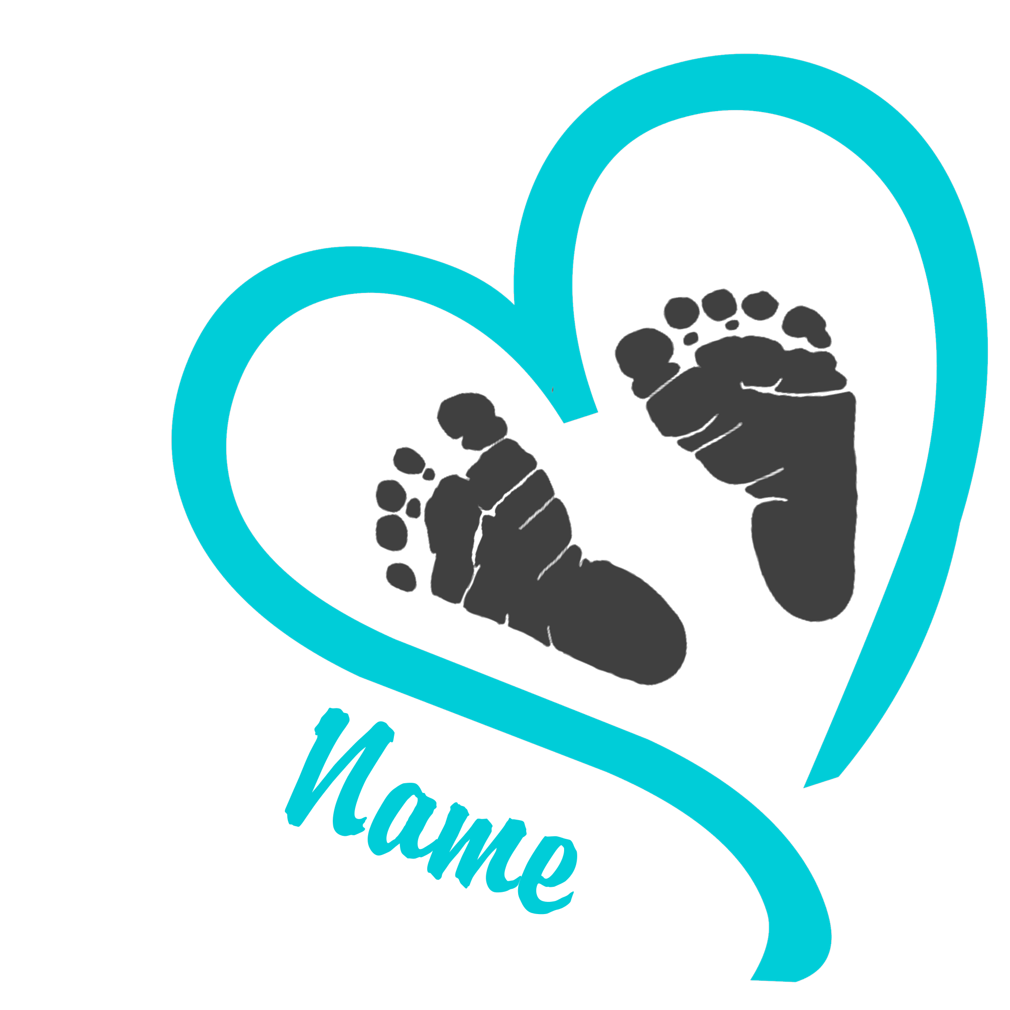 collection of baby. Infant clipart footprint