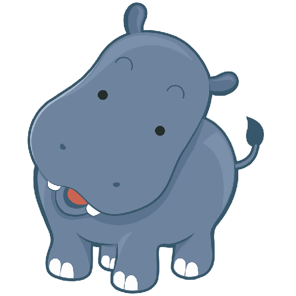 Cute at getdrawings com. Female clipart hippo