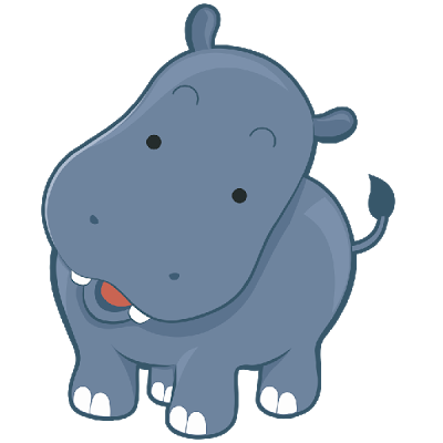 Clip art related pictures. Clipart hippo tail cartoon