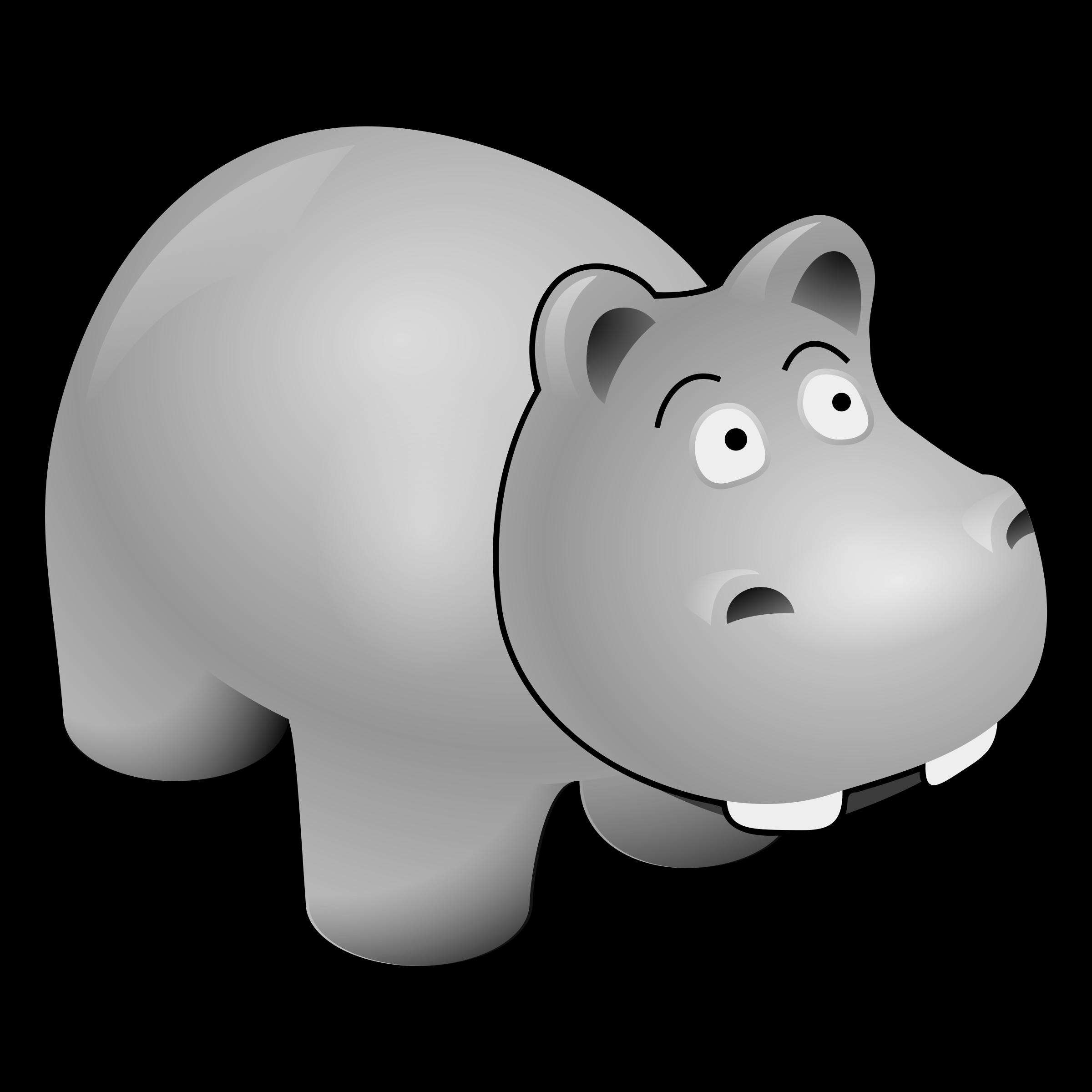 Hippo Clipart Gloria, Hippo Gloria Transparent FREE For