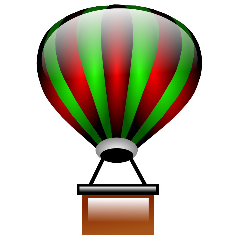 Red clipart hot air balloon. Baby panda free images