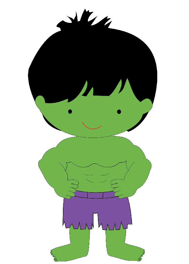Minus say hello my. Purple clipart super hero