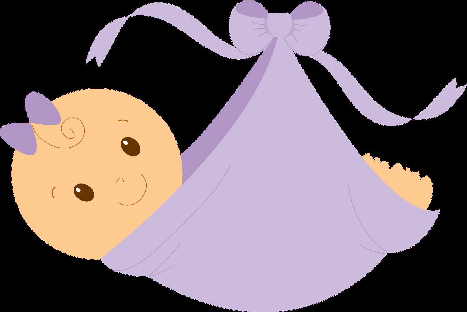 Girl clip art purple. Infant clipart baby shower baby