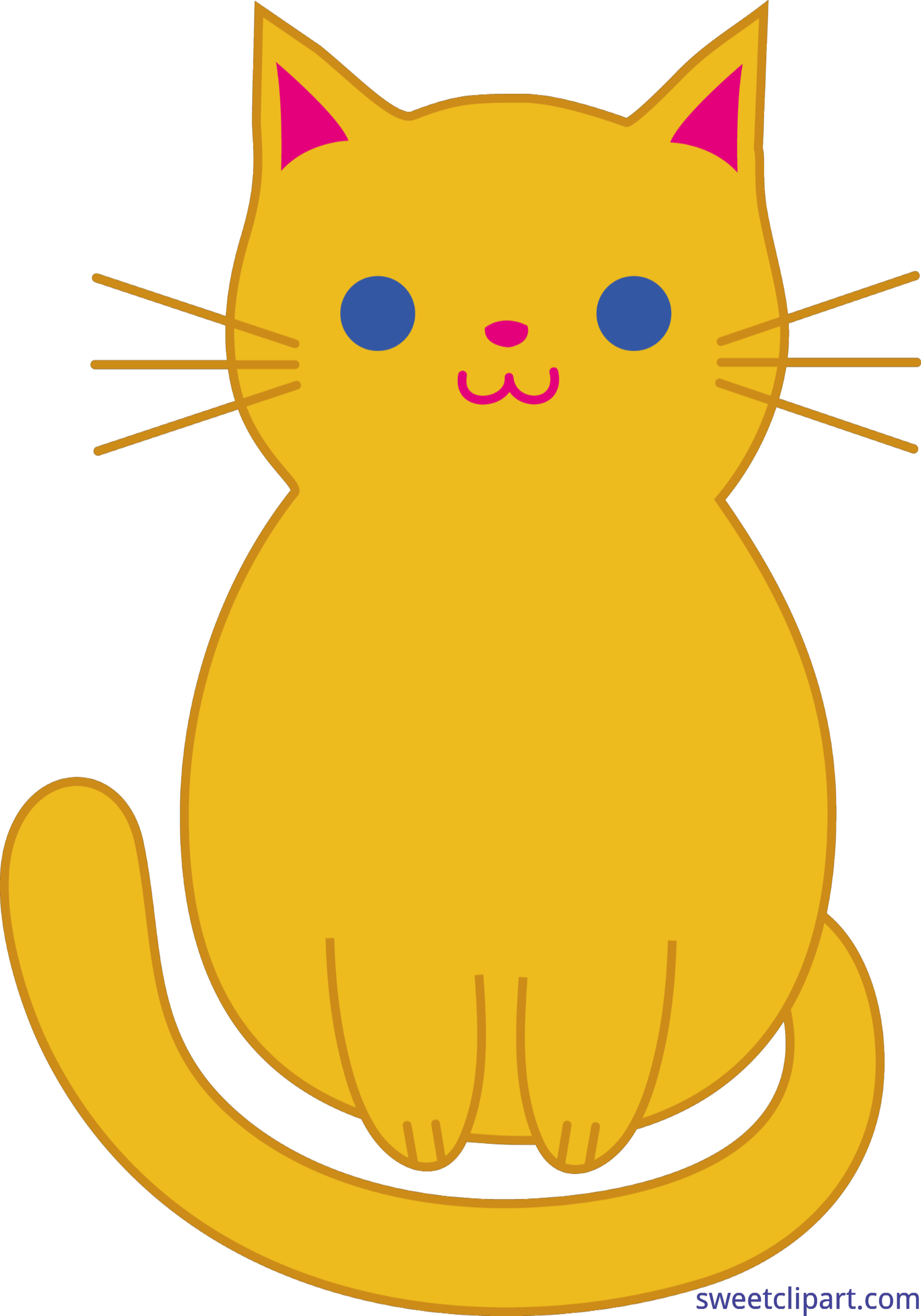 Cats and kittens at. Clipart box cat