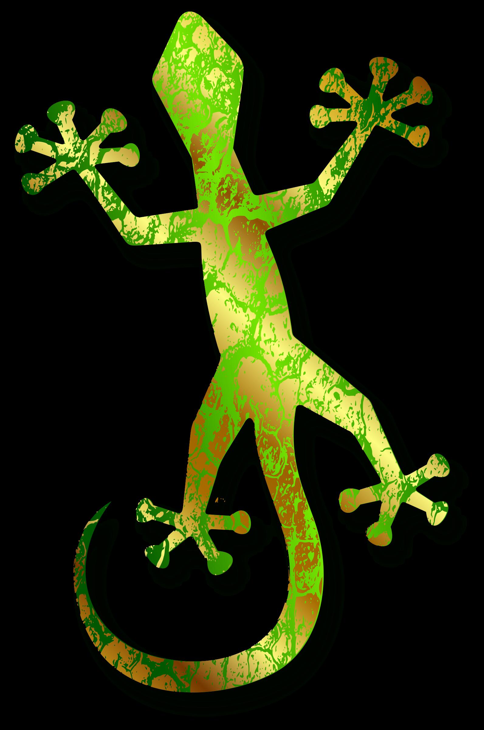 Green lizard clip art. Gecko clipart tuko