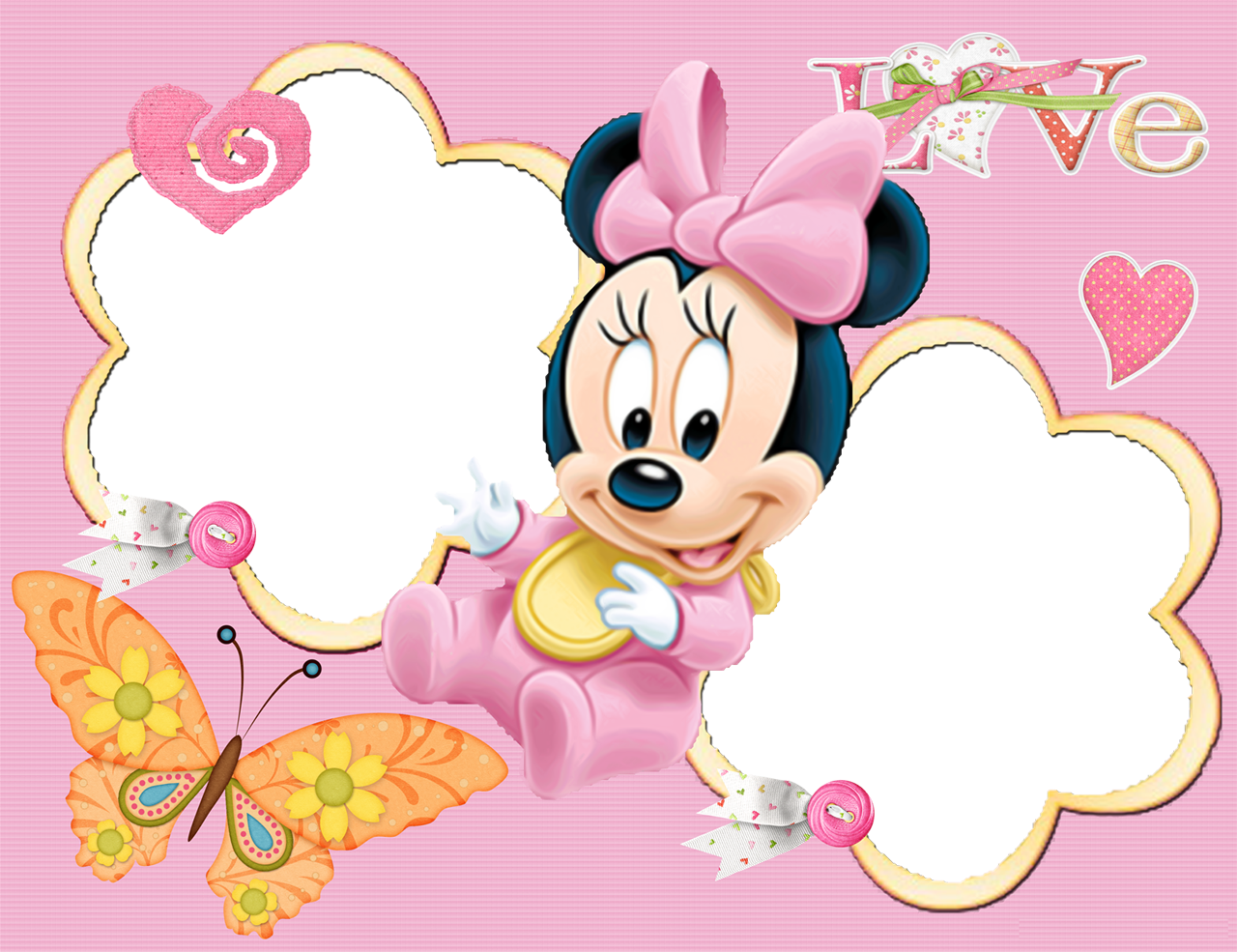 Dibujos de minni fotos. Disneyland clipart letterhead