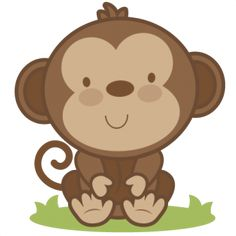 Monkey clipart baby monkey.  best cute images