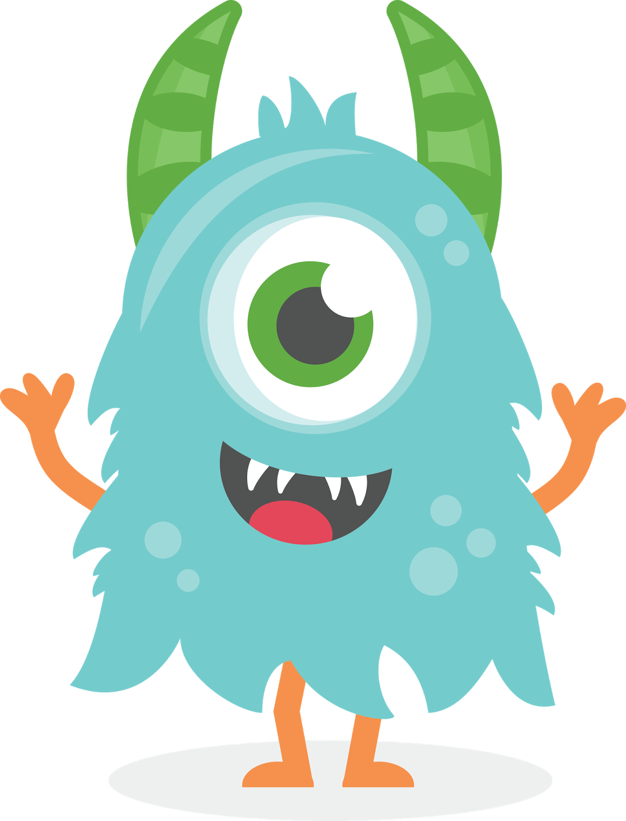 Water clipart monster. Cute pesquisa google pinterest