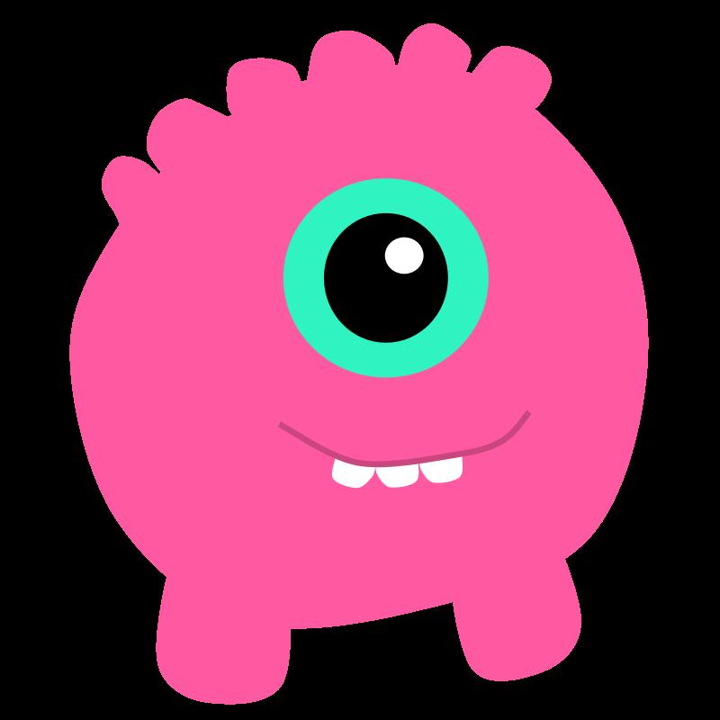 Cute cliparthut free clip. Families clipart monster