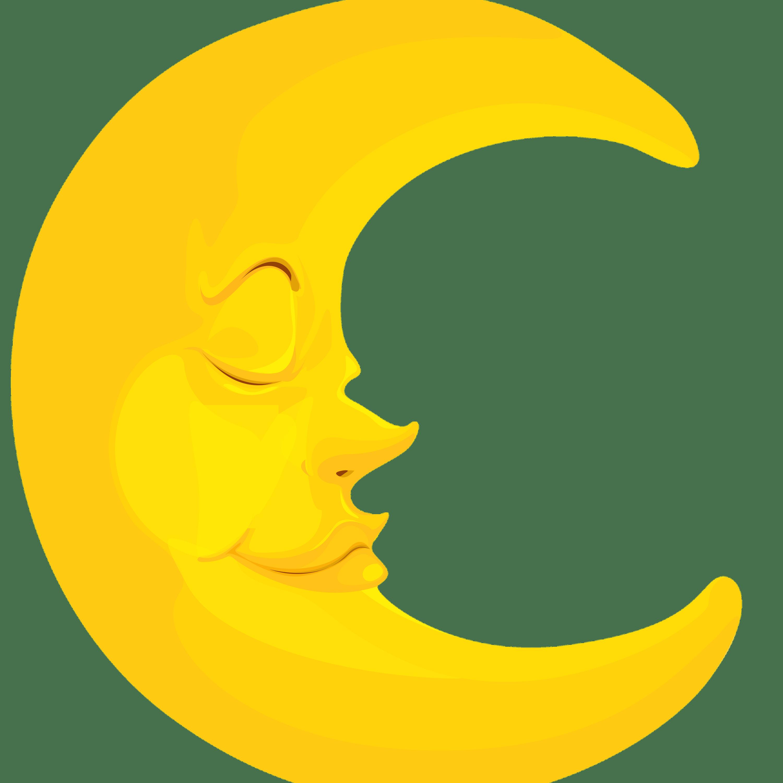 Crescent transparent png jokingart. Clipart moon curved