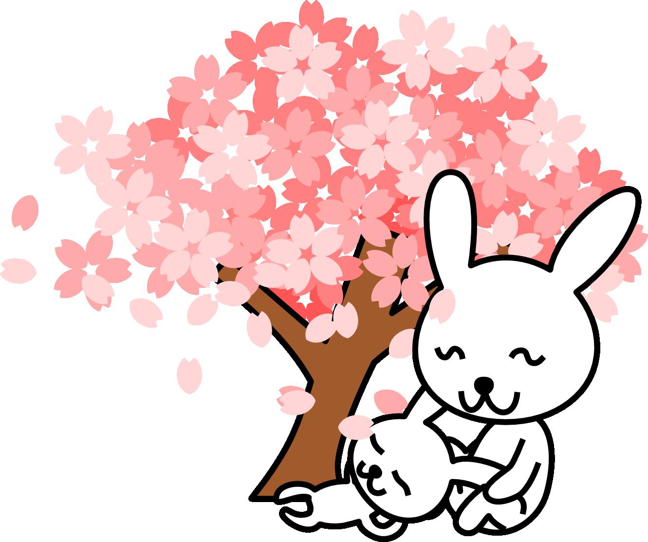 Pink sakura tree mother. Epiphany clipart bethlehem
