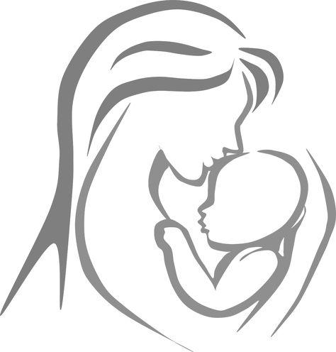 Pinterest . Mother clipart logo