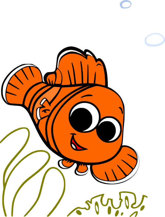 Dory clipart little fish. Nemo clip art