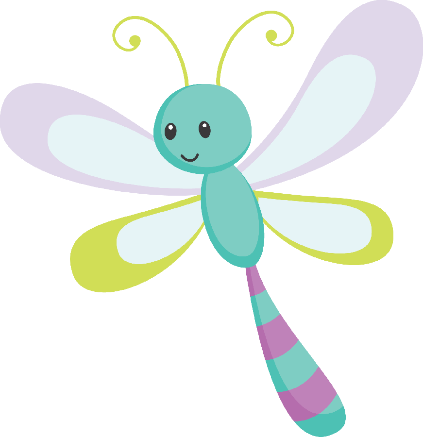 Dragonfly clipart insect. Jardim minus nemo pinterest