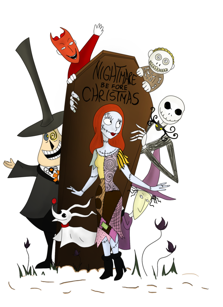 Clipart moon nightmare before christmas.  collection of free