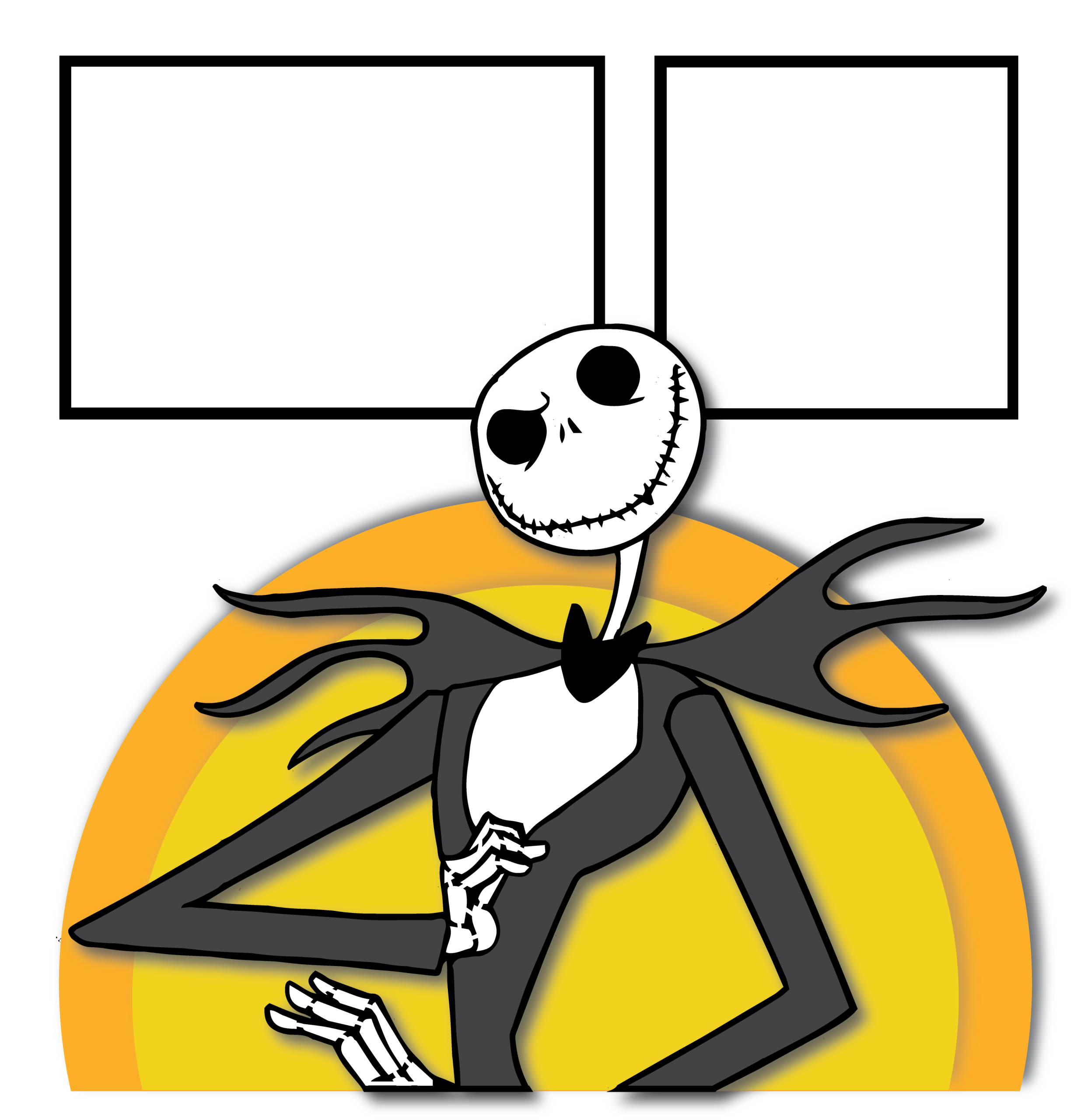 Clipart moon nightmare before christmas, Clipart moon ...