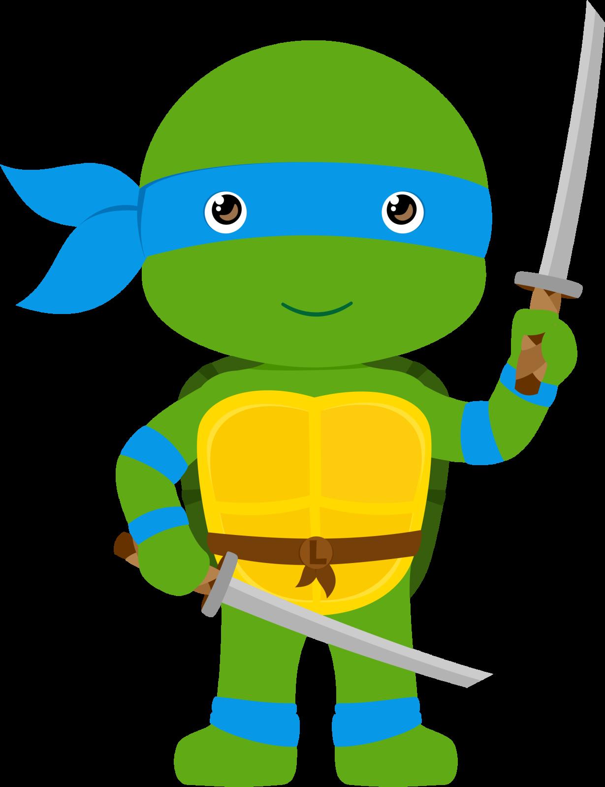 Compartiendo tortugas ninjas sep. Girl clipart turtle