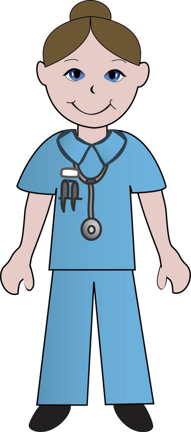 Cute clip art of. Nursing clipart woman doctor