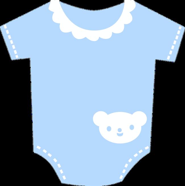 Pajamas clipart blue baby bib. Minus say hello dibujos
