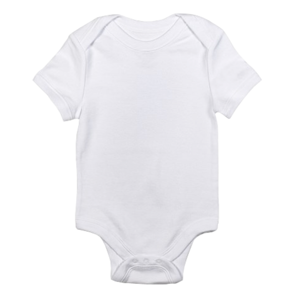 Baby trans free images. White clipart onesie