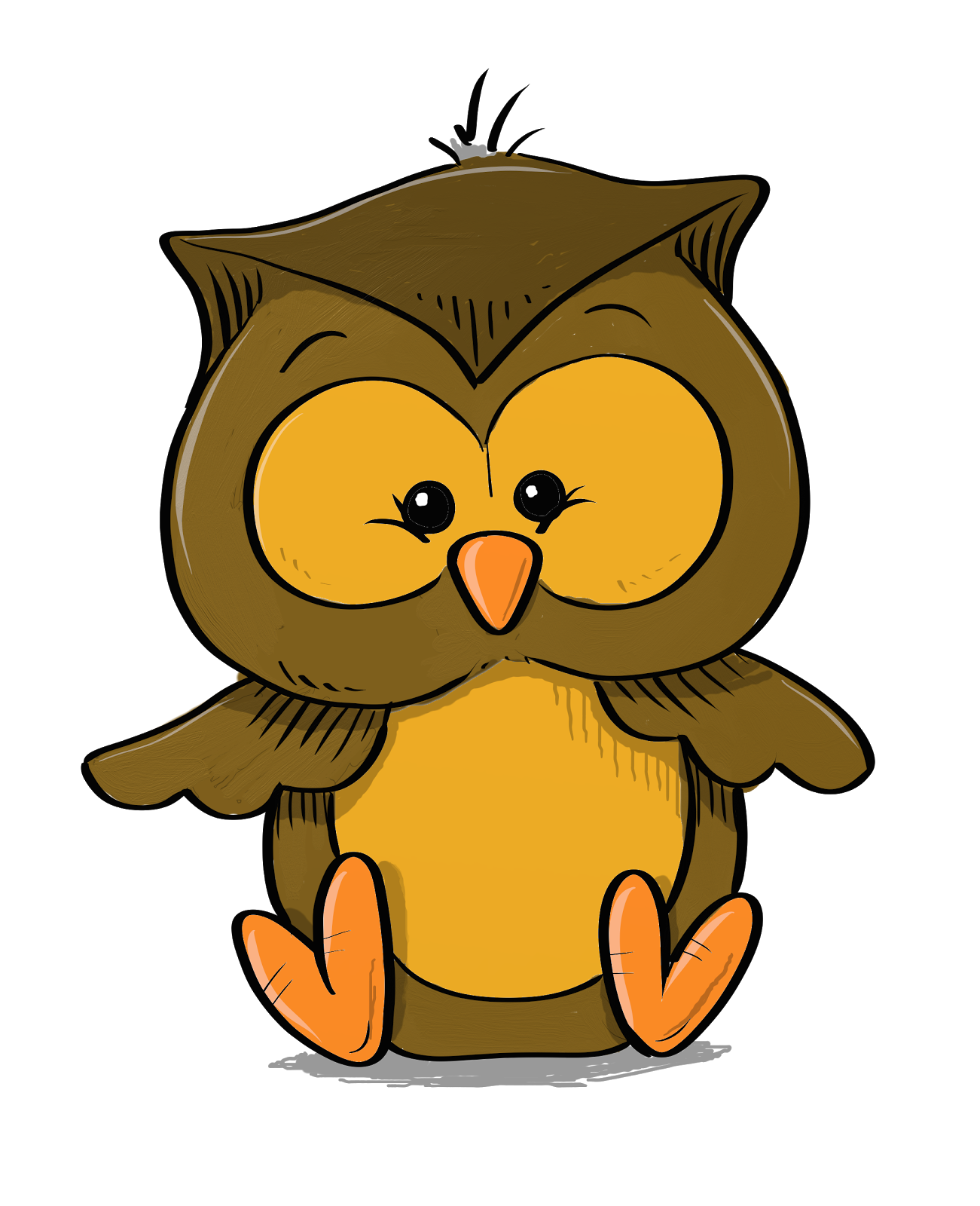 Clipart library owl.  collection of baby