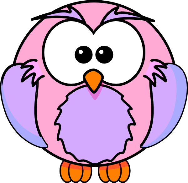 Baby owl panda free. Owls clipart pink