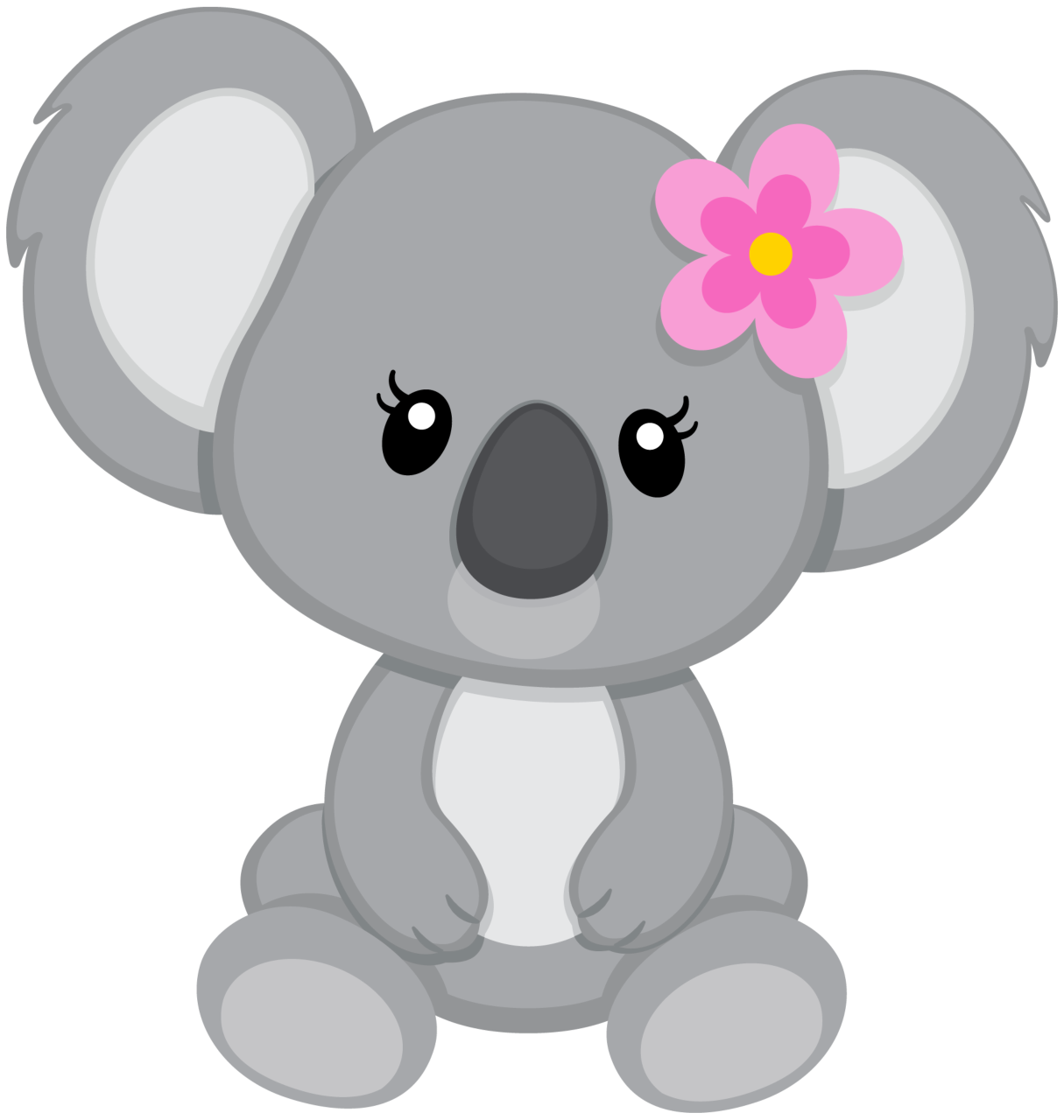 Woodland clipart small animal. Koala png pinterest clip