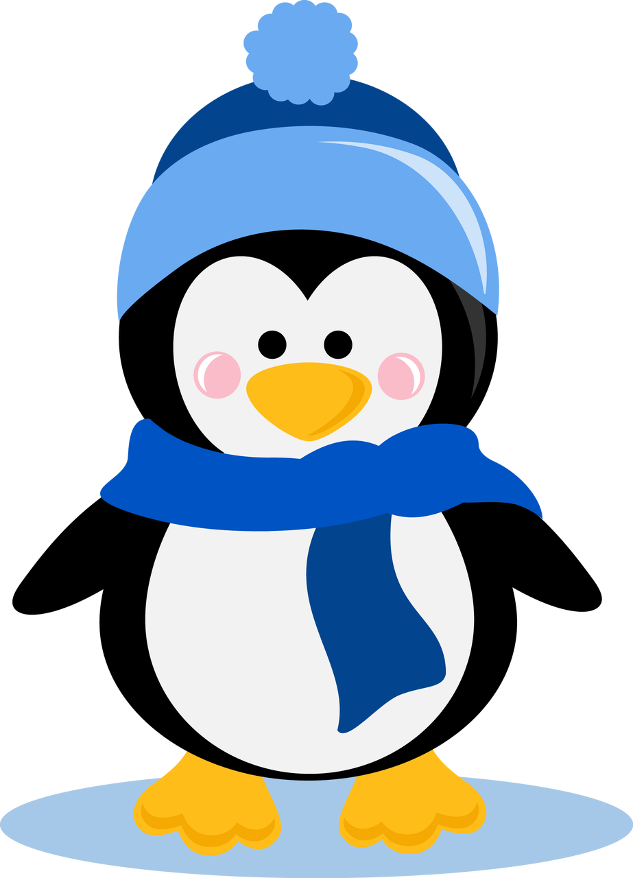 Ppbn designs winter http. Heart clipart penguin
