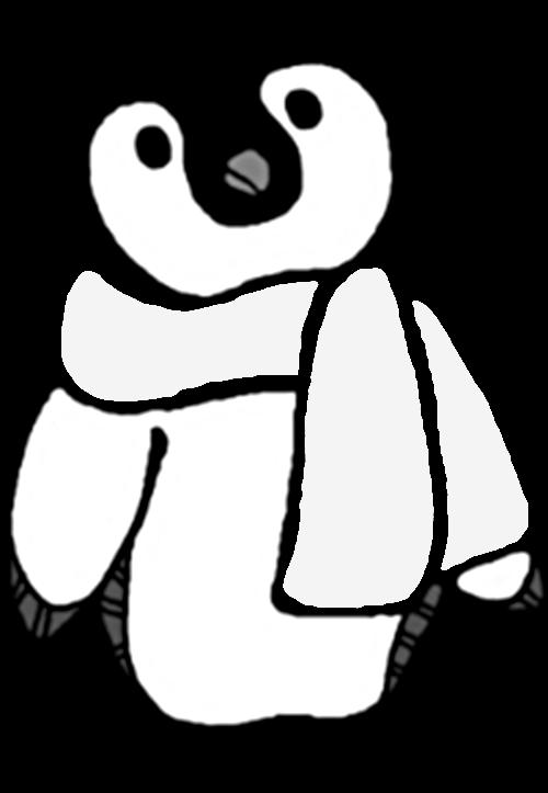 Penguin clipartblack com animal. Clipart penquin baby girl