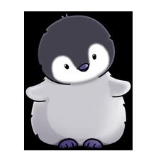clipart penguin child