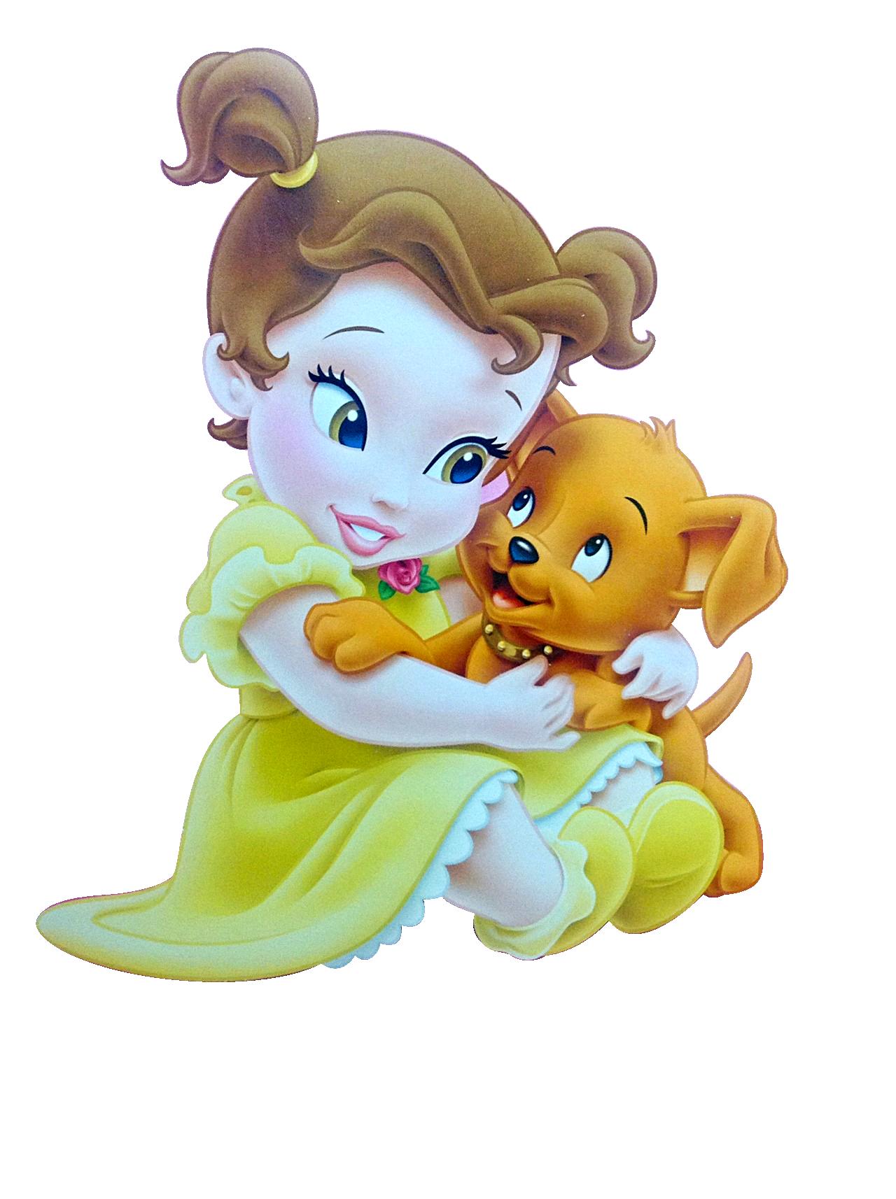 Rapunzel clipart baby. Bella princesa disney png
