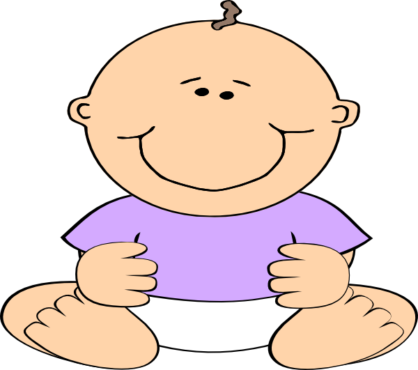 Baby boy purple clip. Clipart shirt child