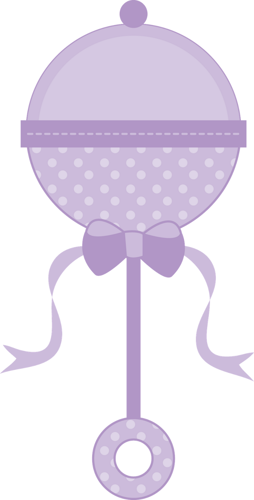 collection of baby. Girl clipart purple