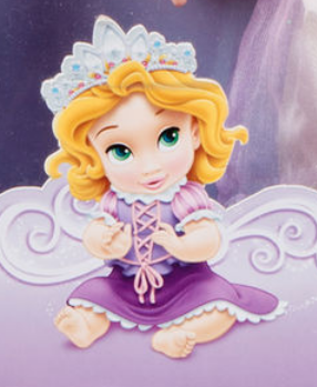 Disney princess . Rapunzel clipart baby