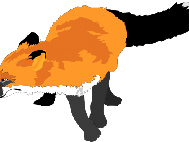 Clip art vector site. Clipart baby red fox