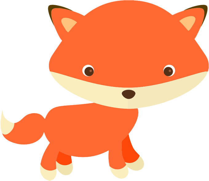 Animal pictures free siewalls. Clipart baby red fox