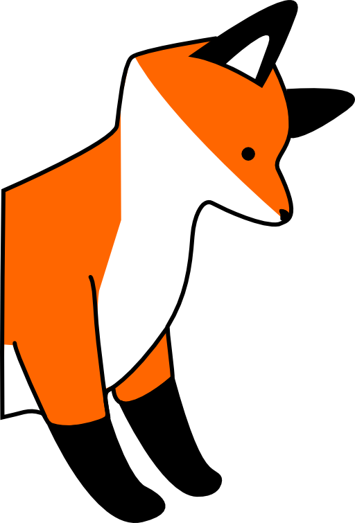 Stupid i royalty free. Clipart baby red fox