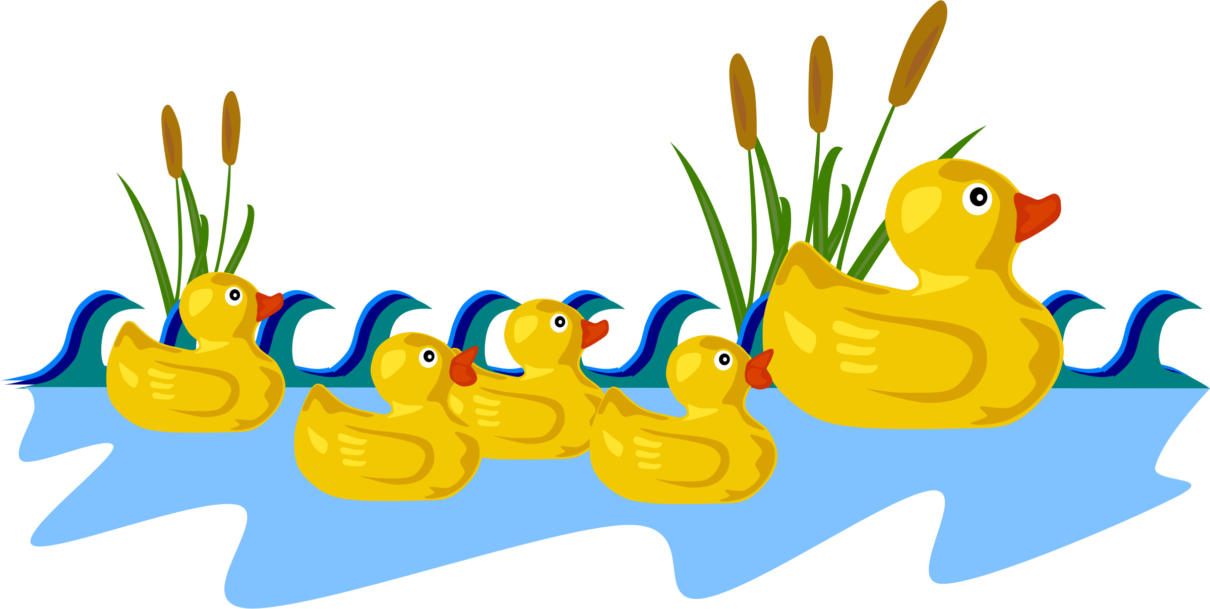 Ducks clipart animated. Duckling bath duck pencil