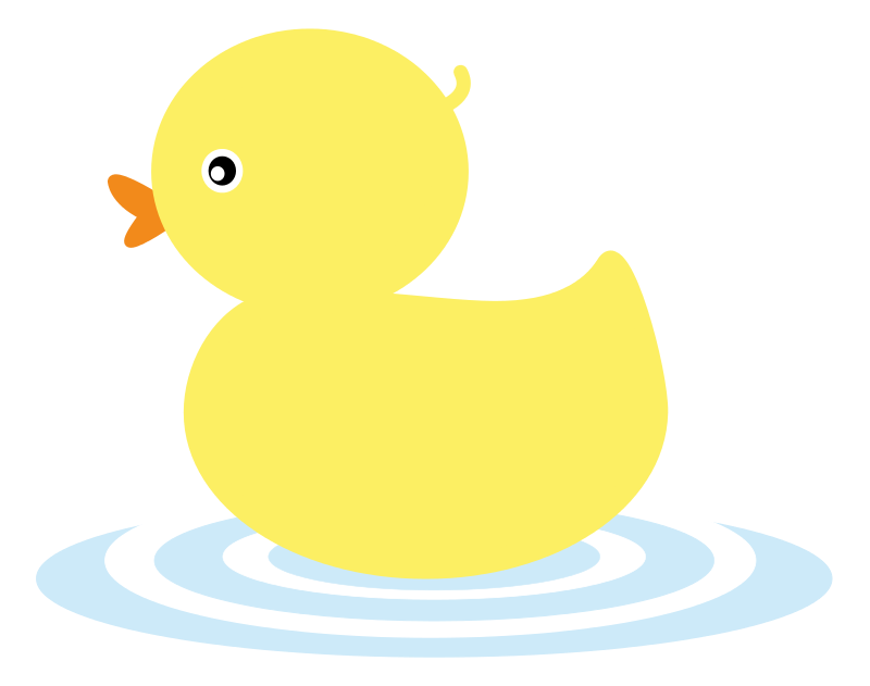 Nose clipart duck. This cute yellow duckling