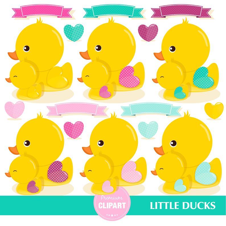 Rubber duck ducky girl. Ducks clipart baby shower