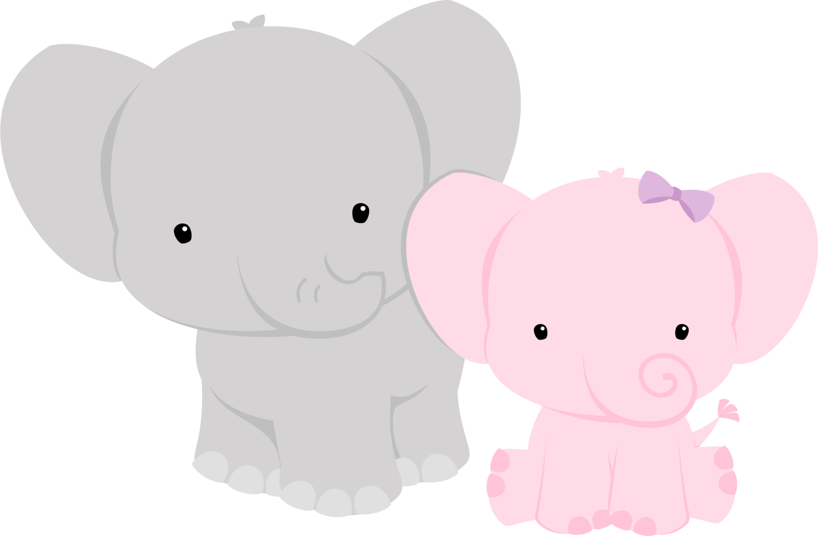 shared ver todas. Elephant clipart baby shower