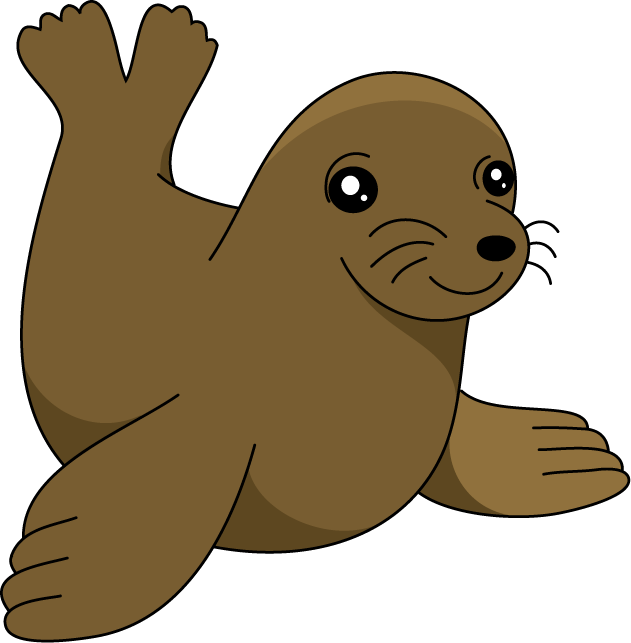 collection of cute. Clipart swimming lion