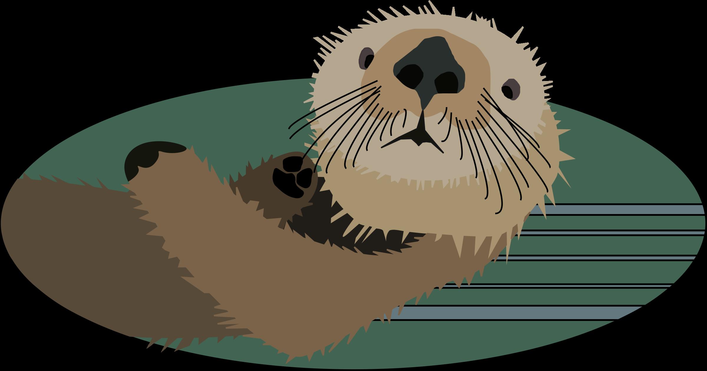 Seal clipart sea otter. Northwest coast native art