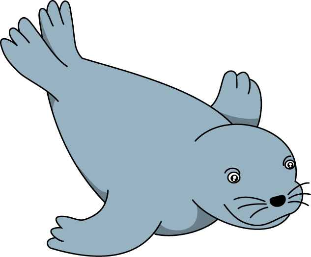 Sea otter at getdrawings. Seal clipart easy