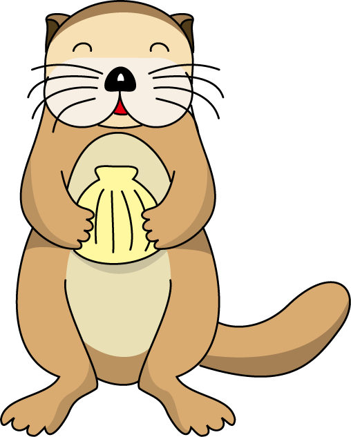 groundhog clipart sea otter