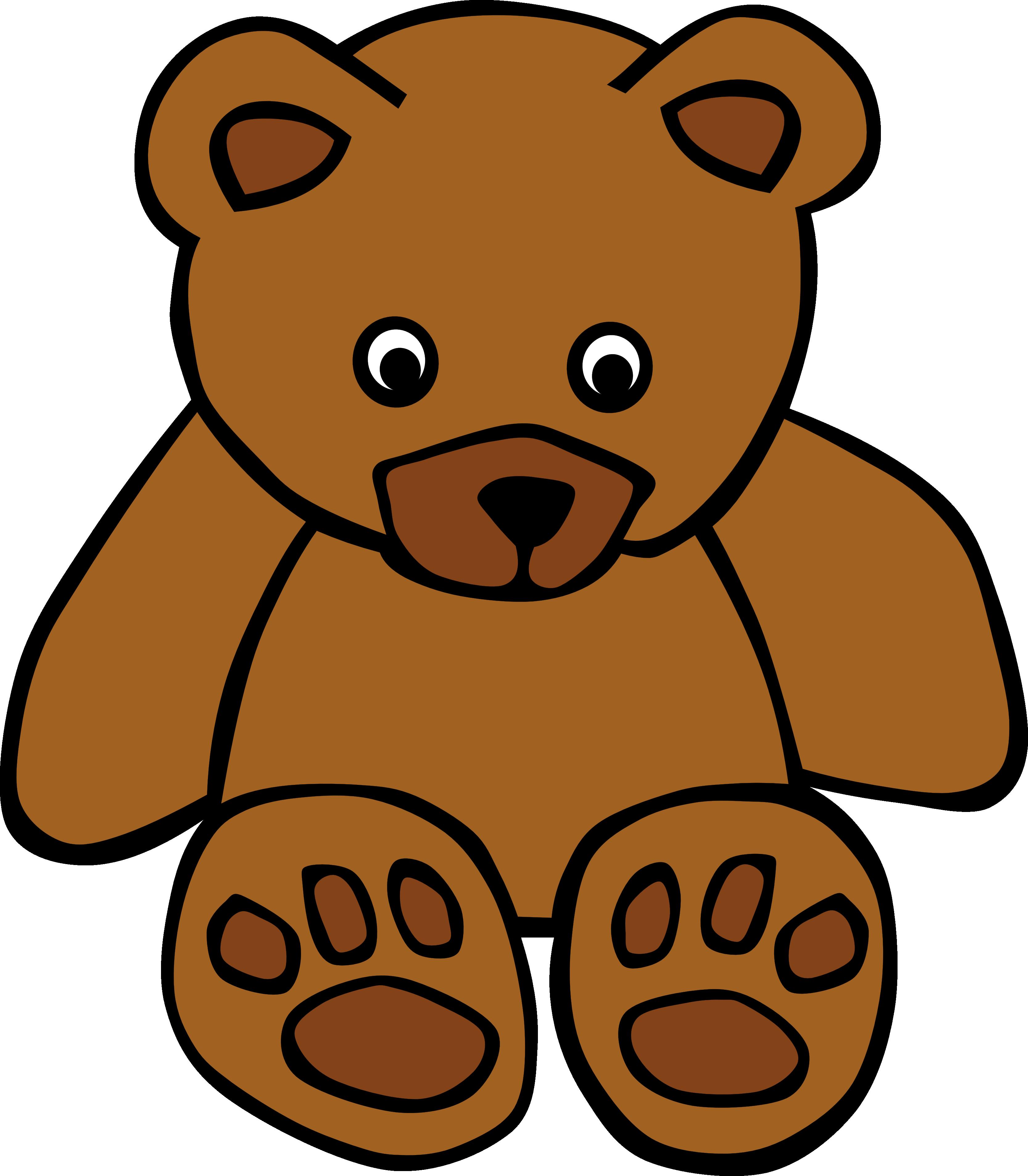 Baby teddy bear panda. Clipart library kindergarten