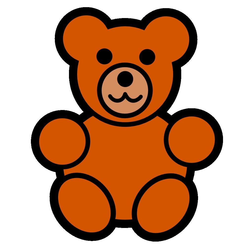 Baby teddy at getdrawings. Clipart bear ear