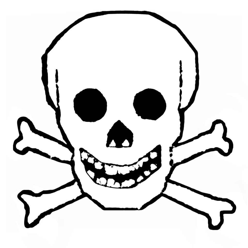 And crossbones transparent png. Halloween clipart skull